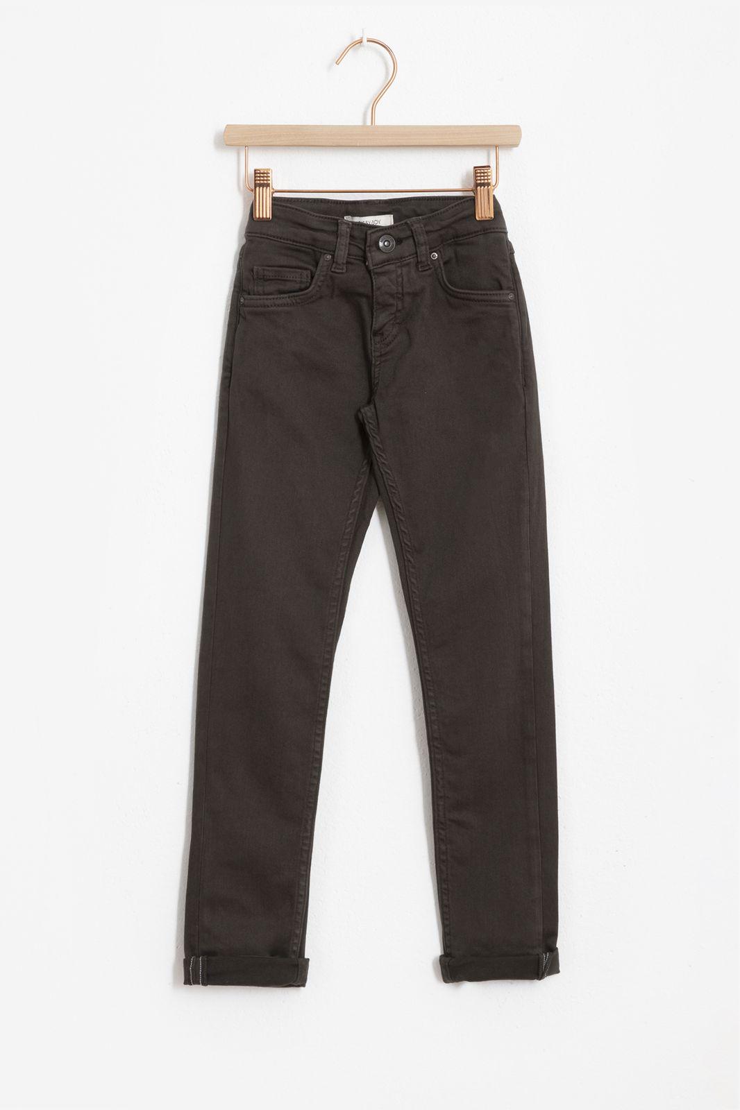 Groene slim fit denim jeans - Kids | Sissy-Boy