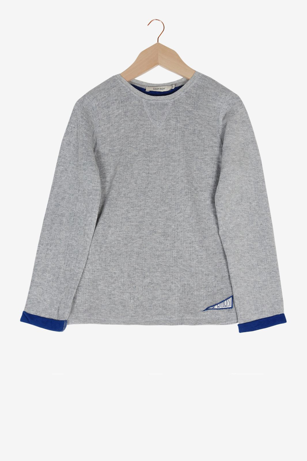 Grijs T-shirt lange mouwen - Kids | Sissy-Boy