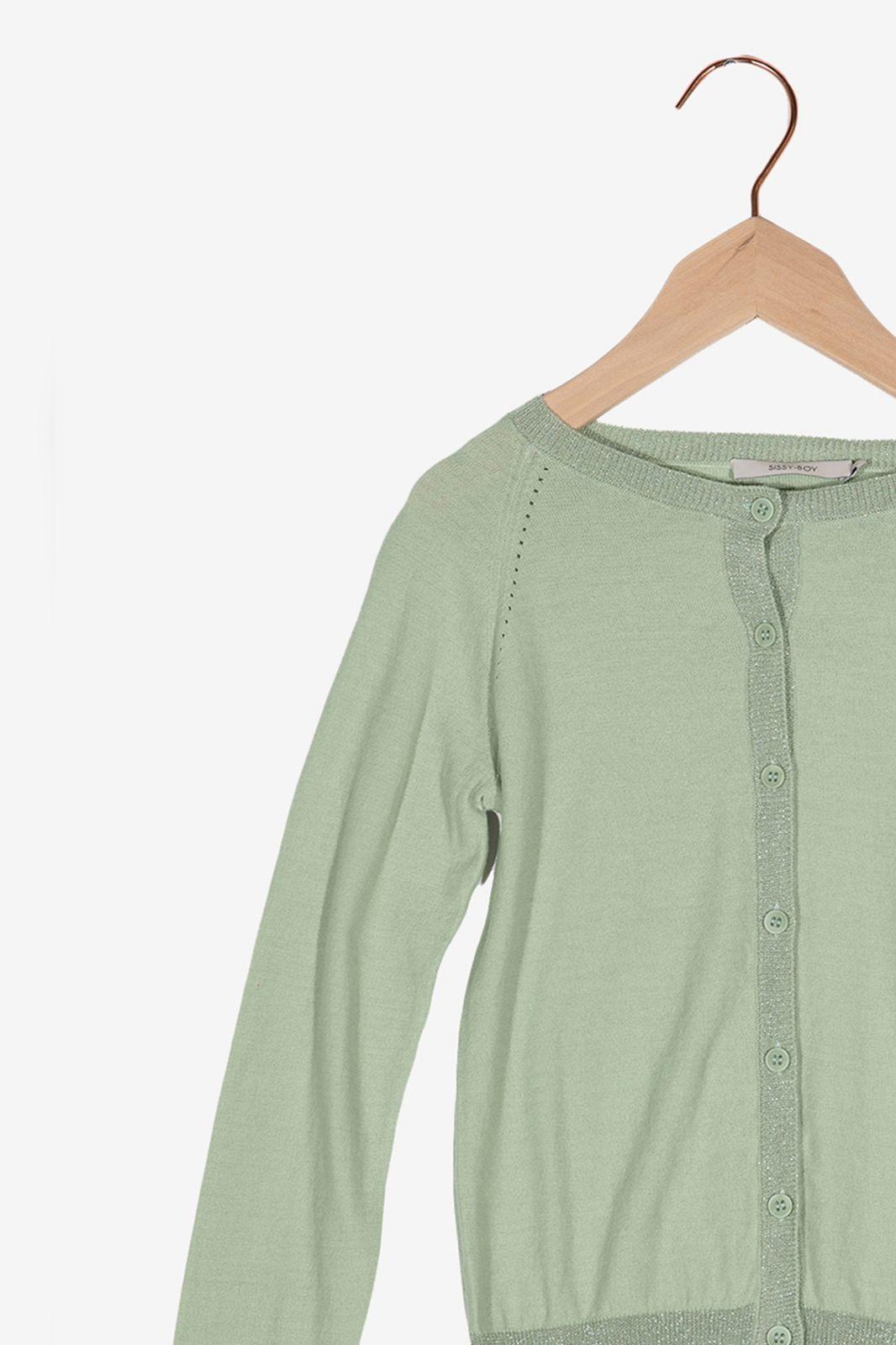 Groen vestje met glitter details - Kids | Sissy-Boy