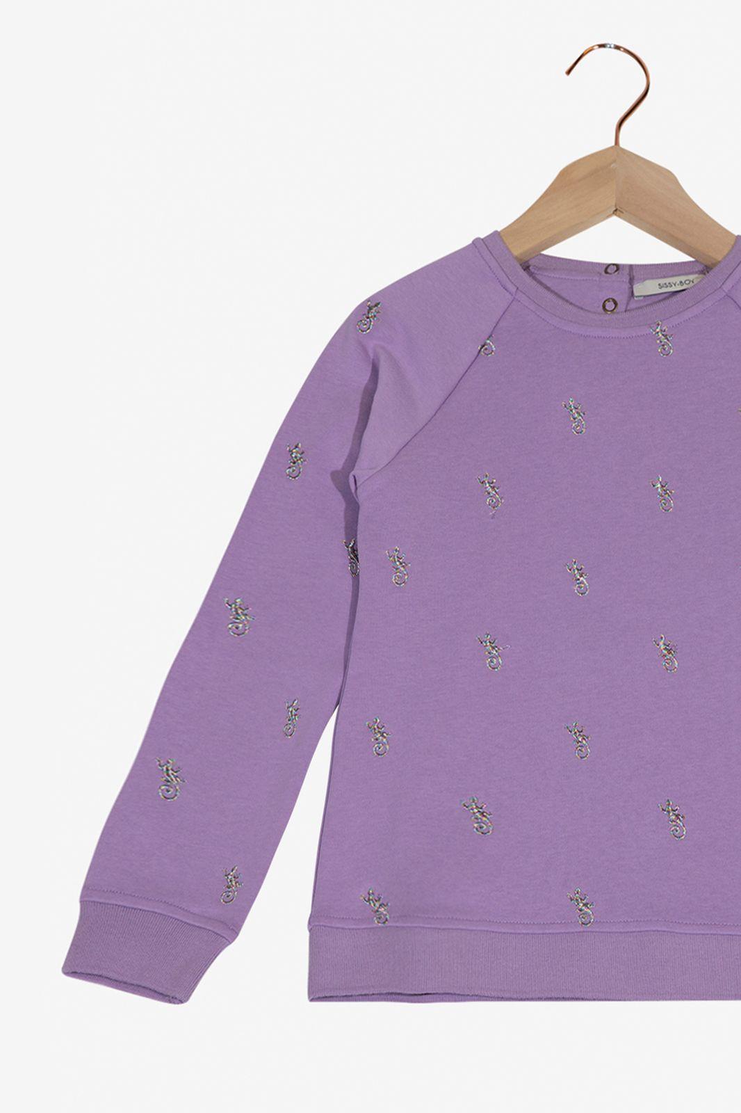 Lichtpaarse sweater gekko - Kids | Sissy-Boy