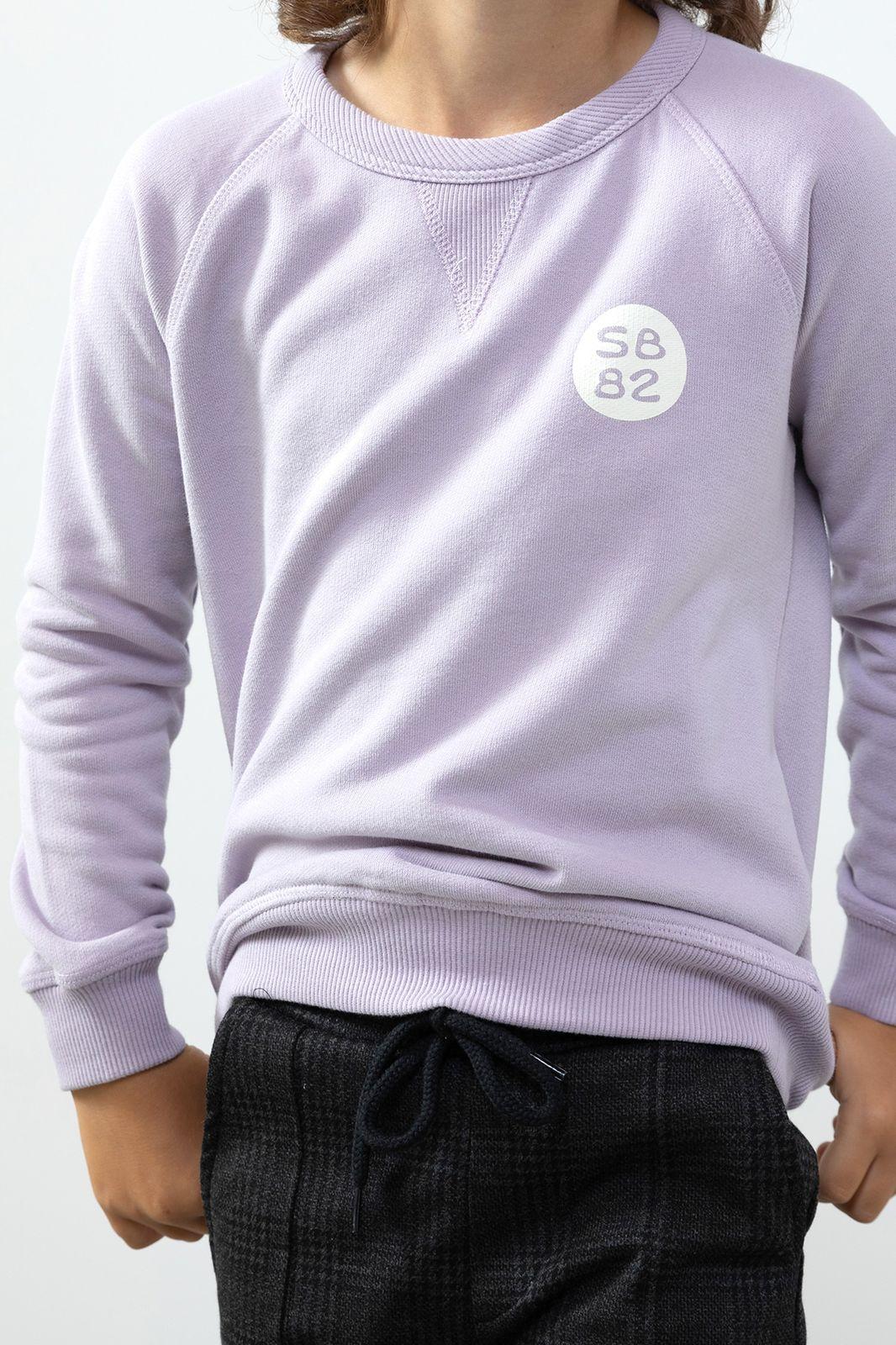 Lichtpaarse sweater