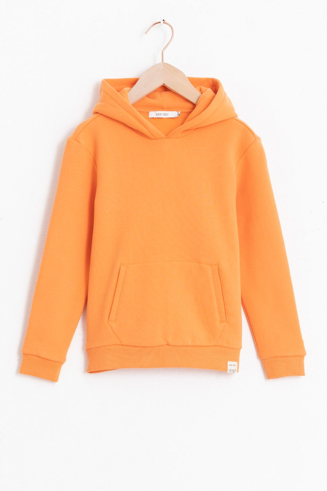 Oranje basic hoodie