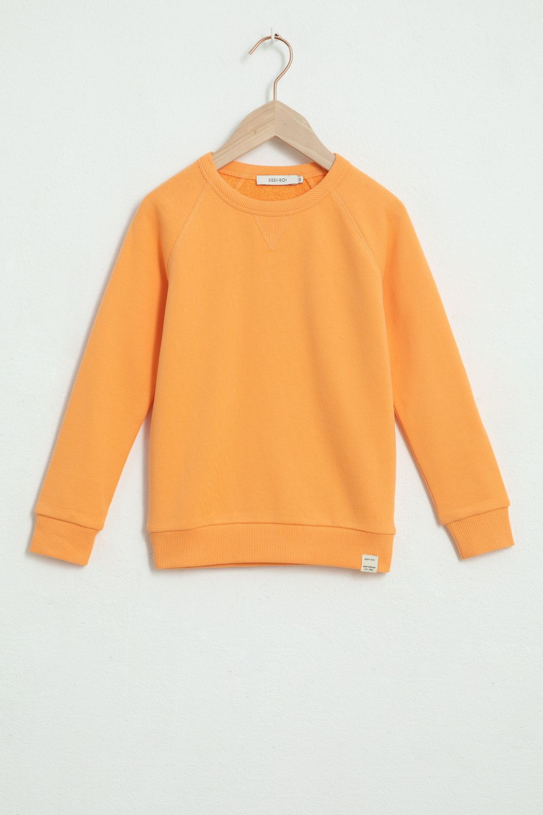 Oranje basic sweater - Kids | Sissy-Boy