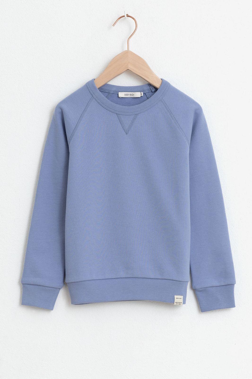 Paarse basic sweater - Kids | Sissy-Boy