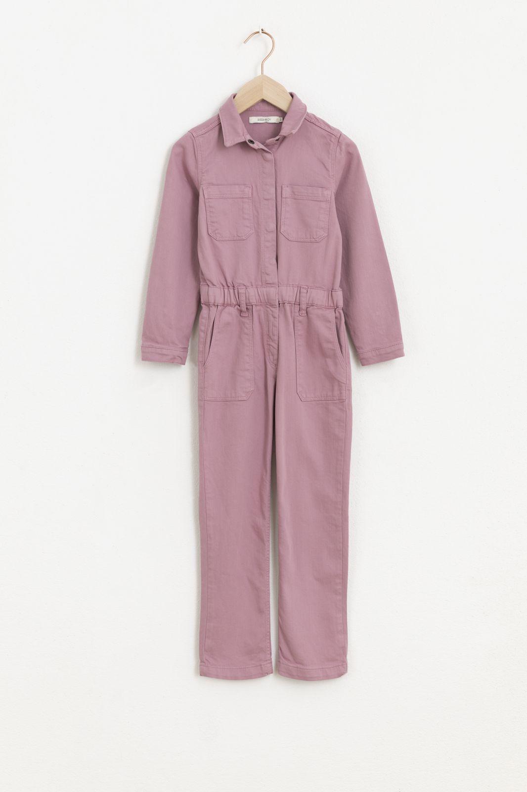 Lila boiler suit