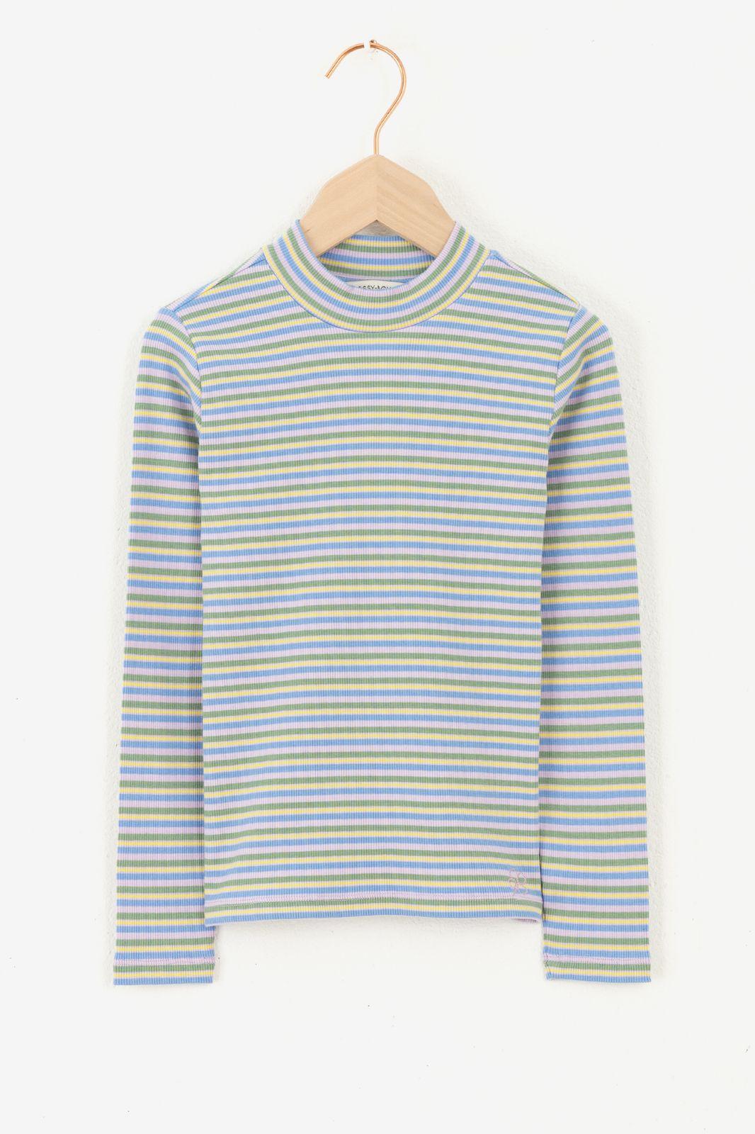 Multicolor gestreept T-shirts met lange mouw - Kids | Sissy-Boy