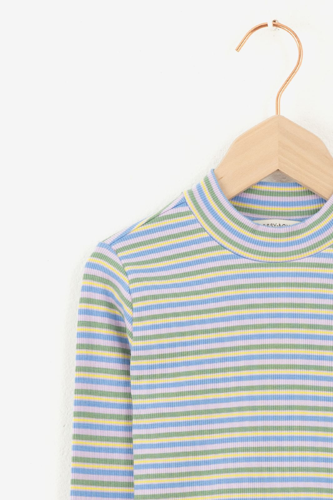 Multicolor T-shirts met strepen - Kids | Sissy-Boy