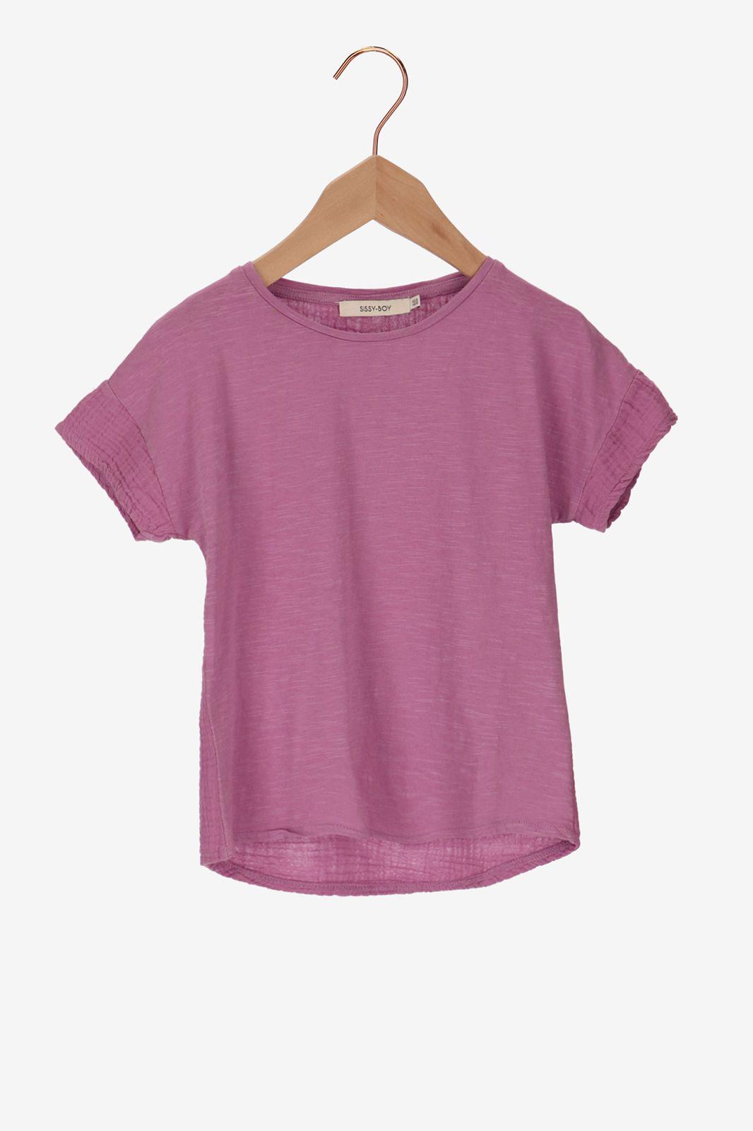 Paars t-shirt