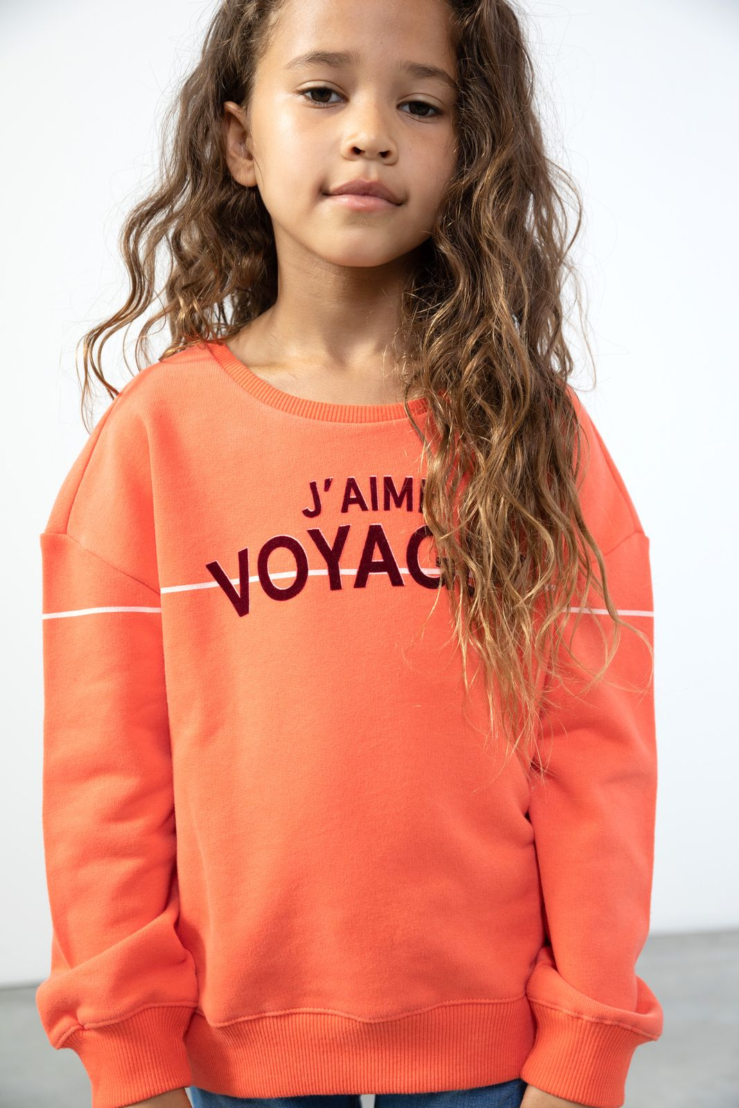 Roze sweater met tekst - Kids | Sissy-Boy