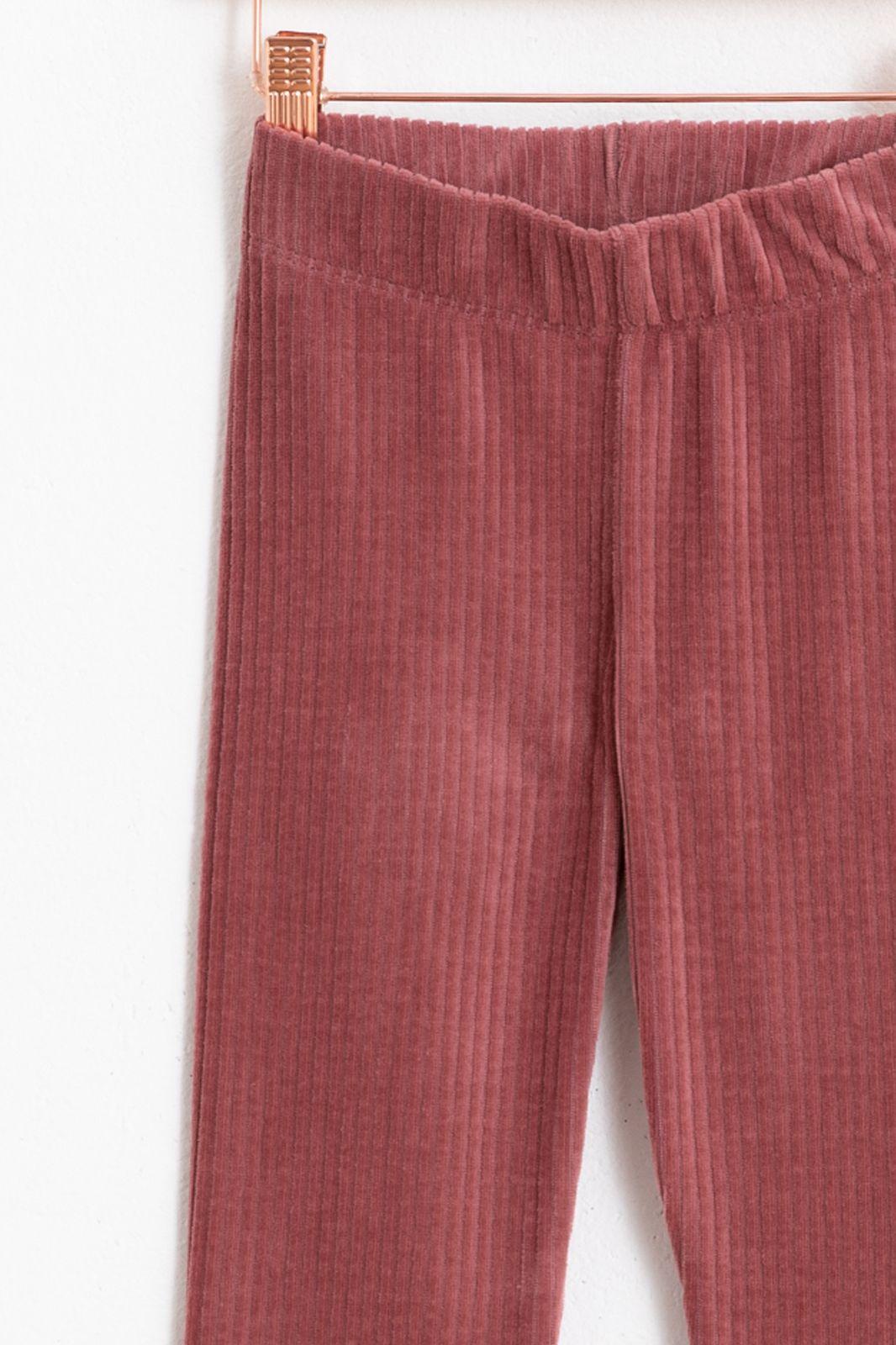 Roze flare rib legging - Kids | Sissy-Boy