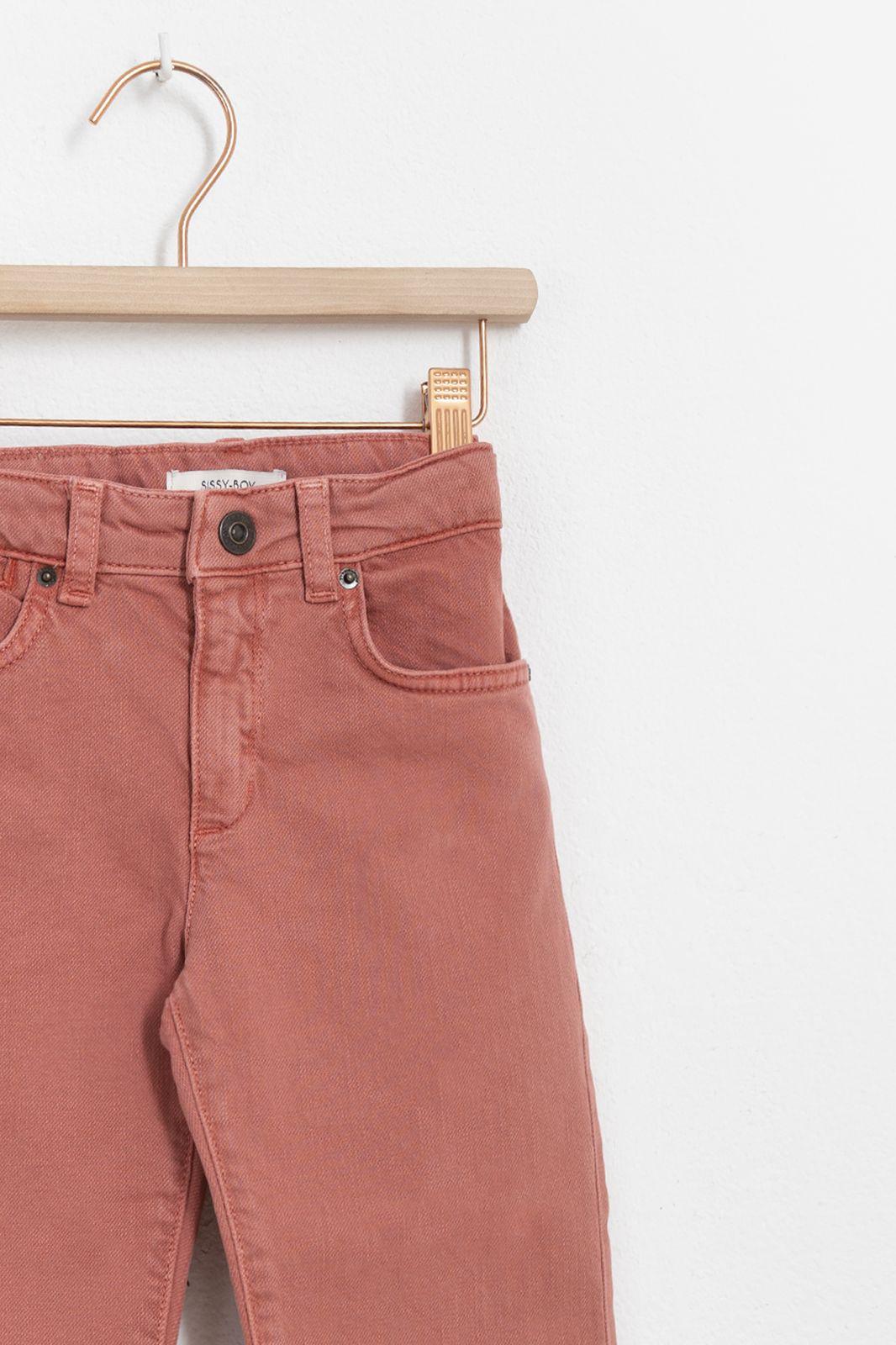 Roze loose fit jeans girls - Kids   Sissy-Boy