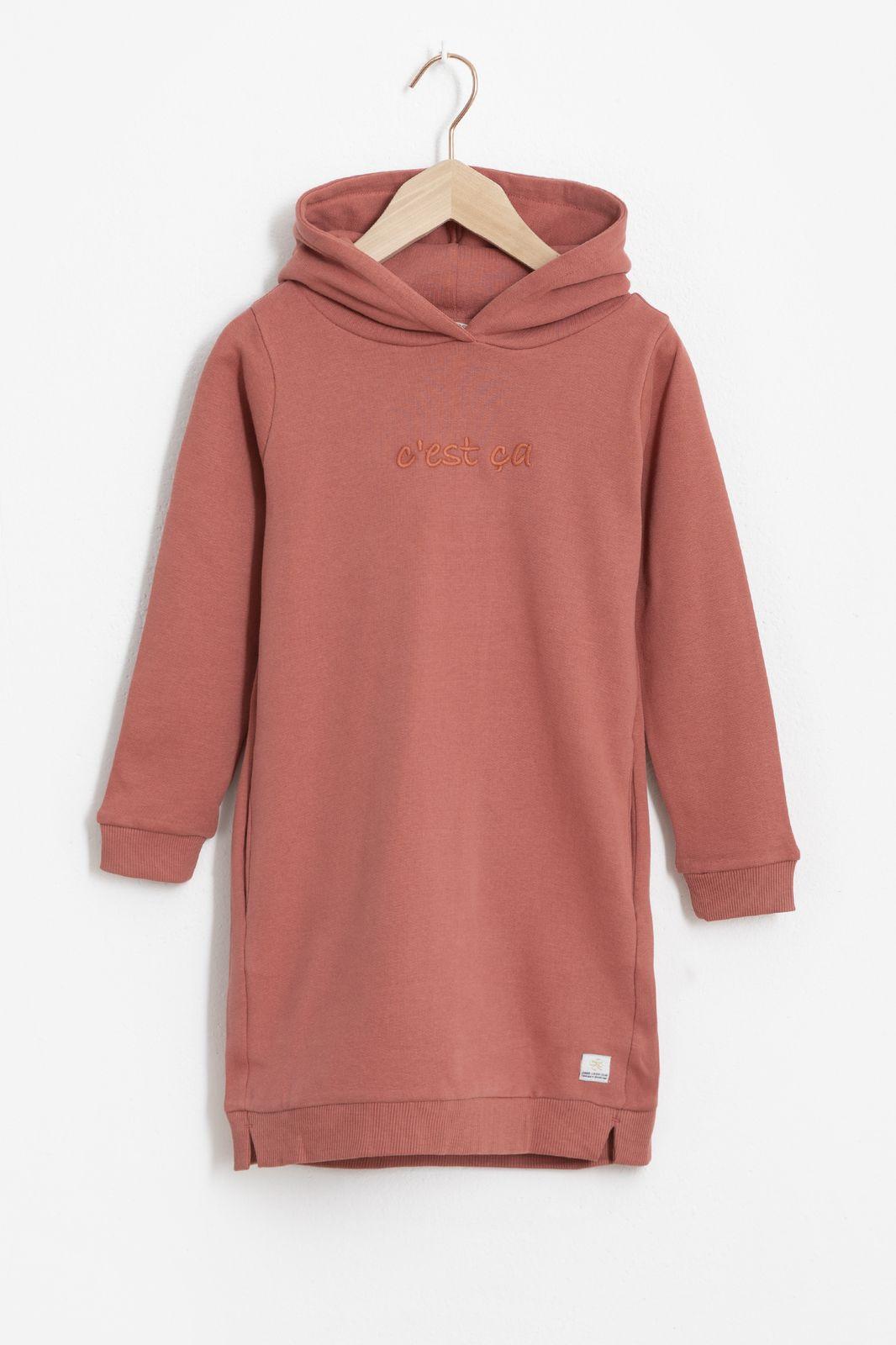 Roze sweater jurk 'c'est ça' - Kids | Sissy-Boy
