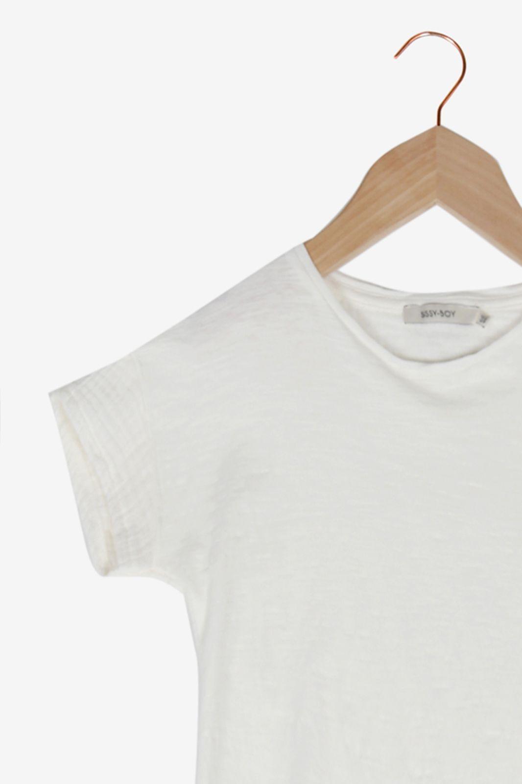 Wit t-shirt - Kids | Sissy-Boy