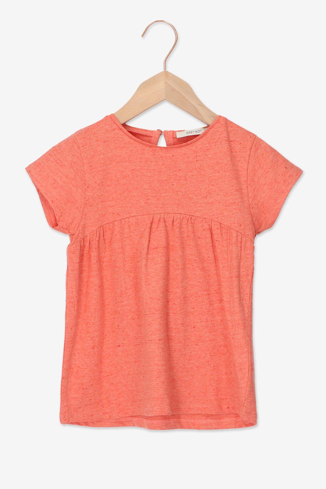 Roze T-shirt gekleurde neps - Kids   Sissy-Boy