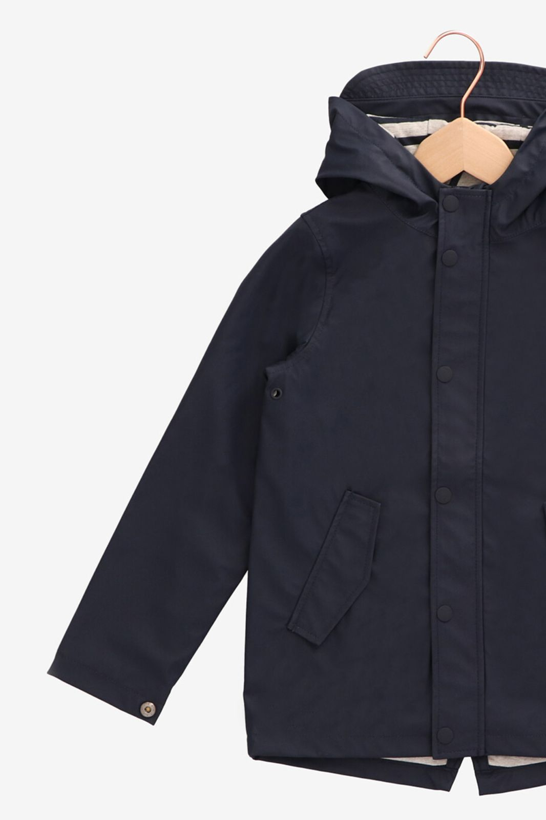 Donkerblauwe regenjas met capuchon - Kids | Sissy-Boy