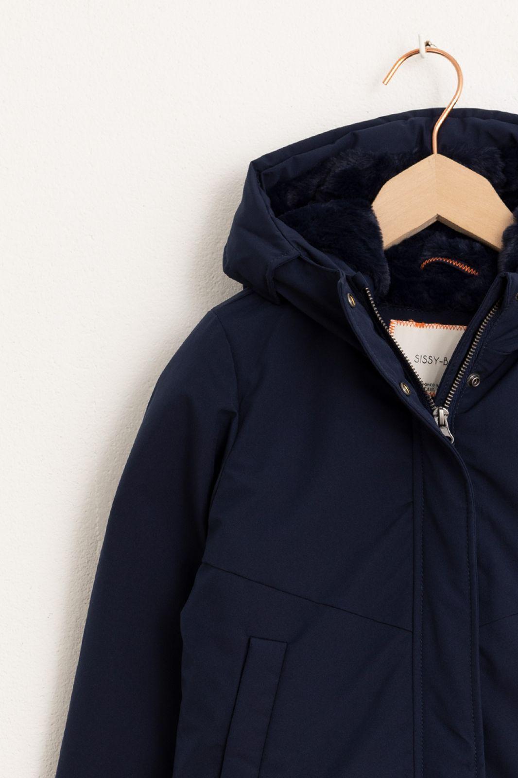 Donkerblauwe jas - Kids | Sissy-Boy