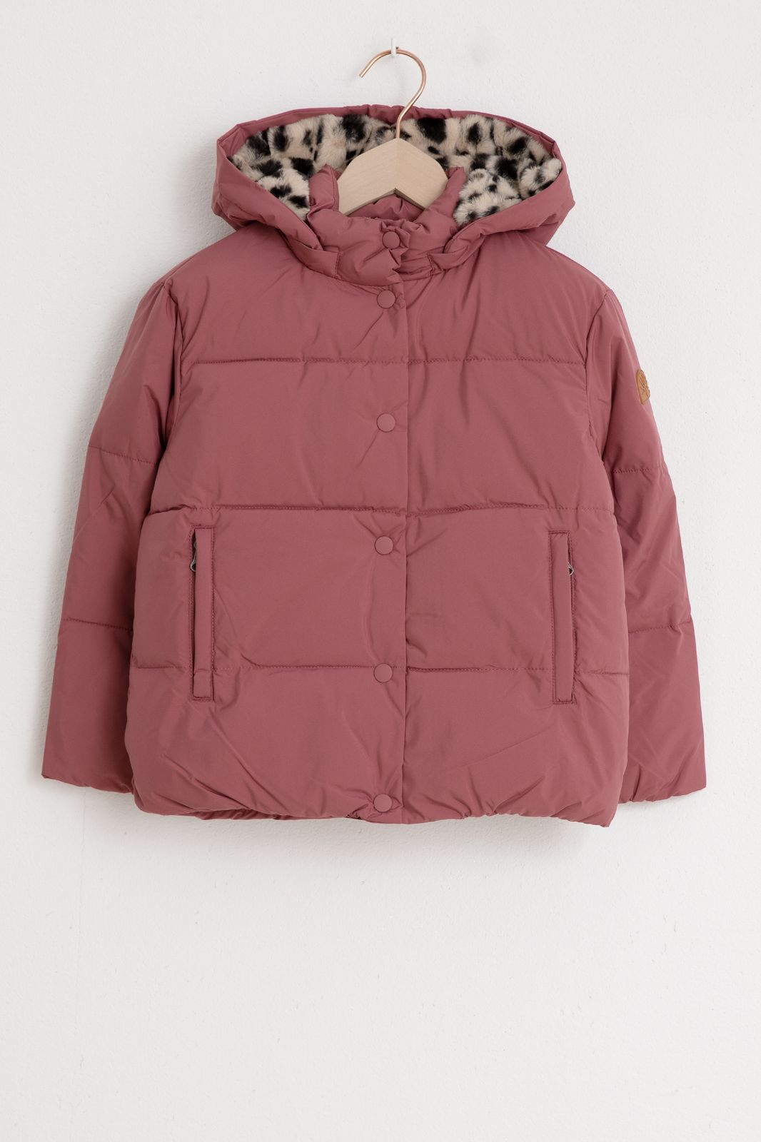 Roze jas met luipaard details - Kids | Sissy-Boy
