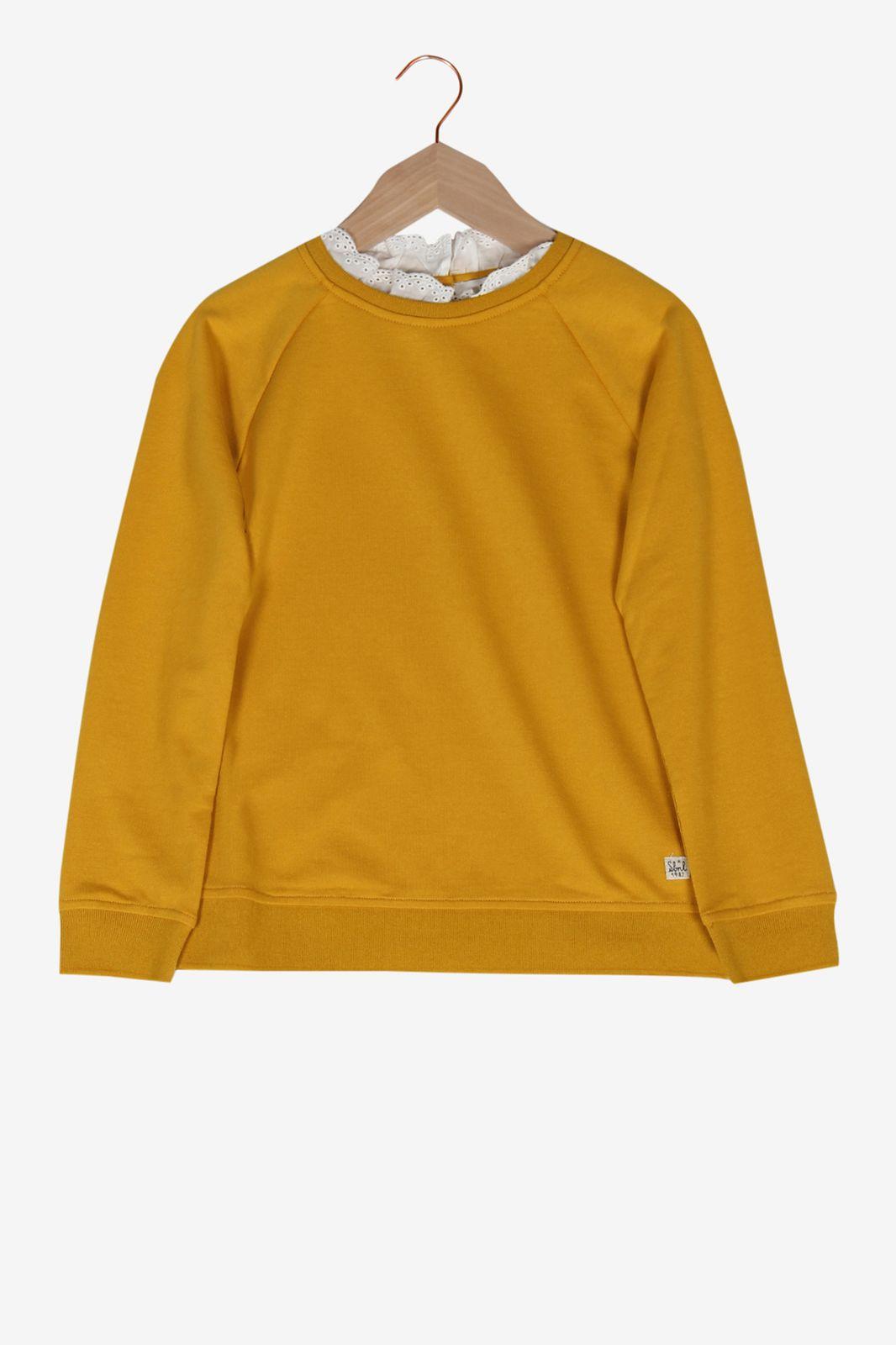 Gele trui met kraag - Kids | Sissy-Boy