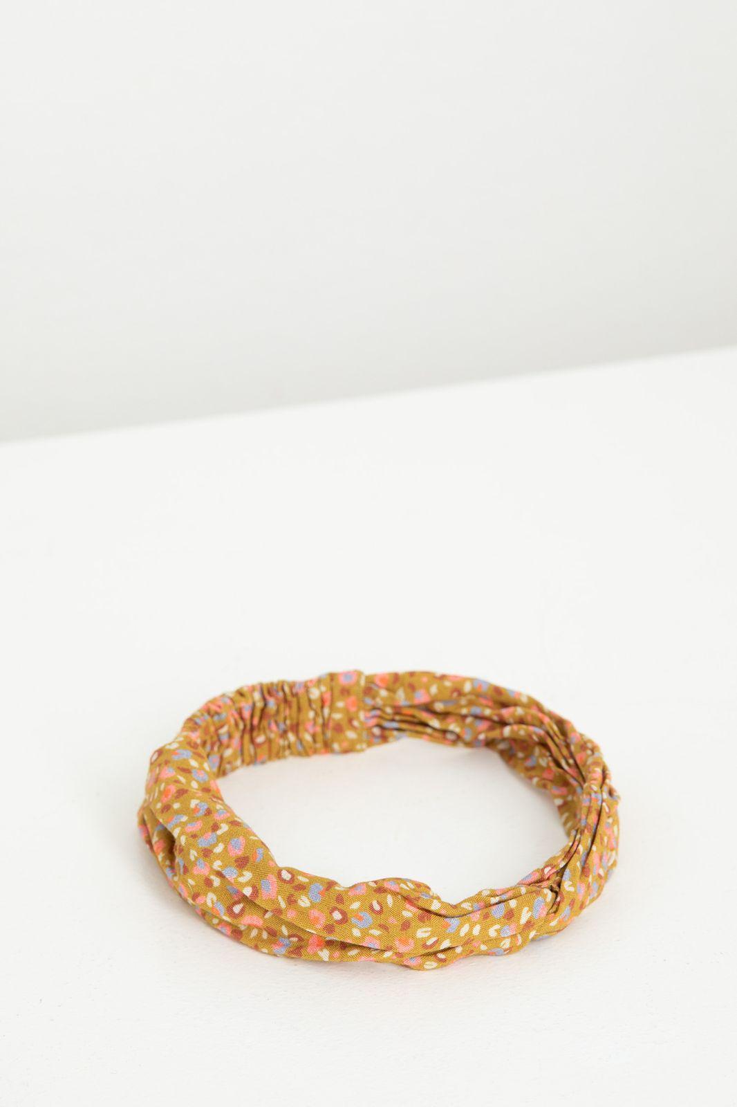 Okergele haarband met dots print - Kids | Sissy-Boy