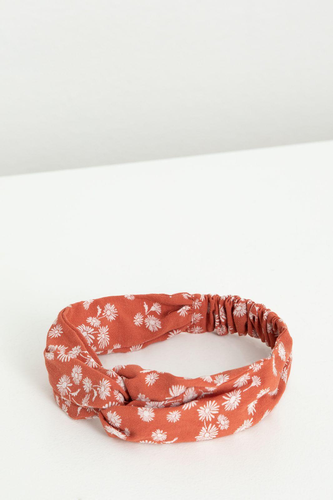 Rode haarband met all over bloemenprint - Kids   Sissy-Boy