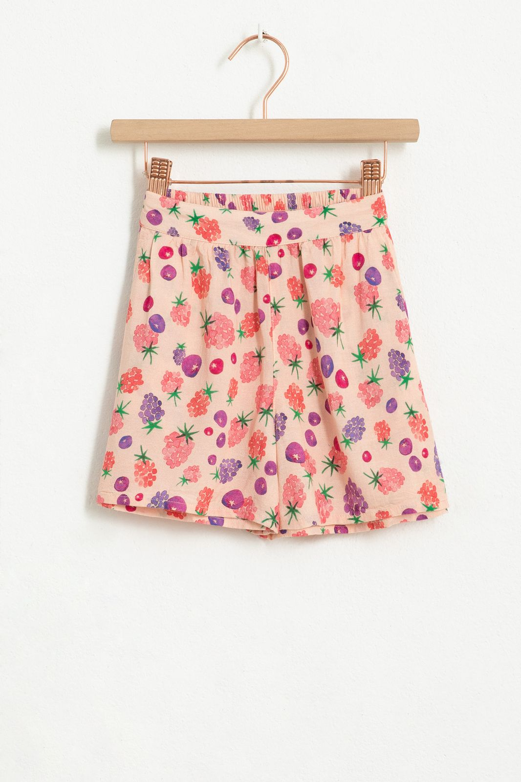 Roze shorts met all over berry print - Kids   Sissy-Boy