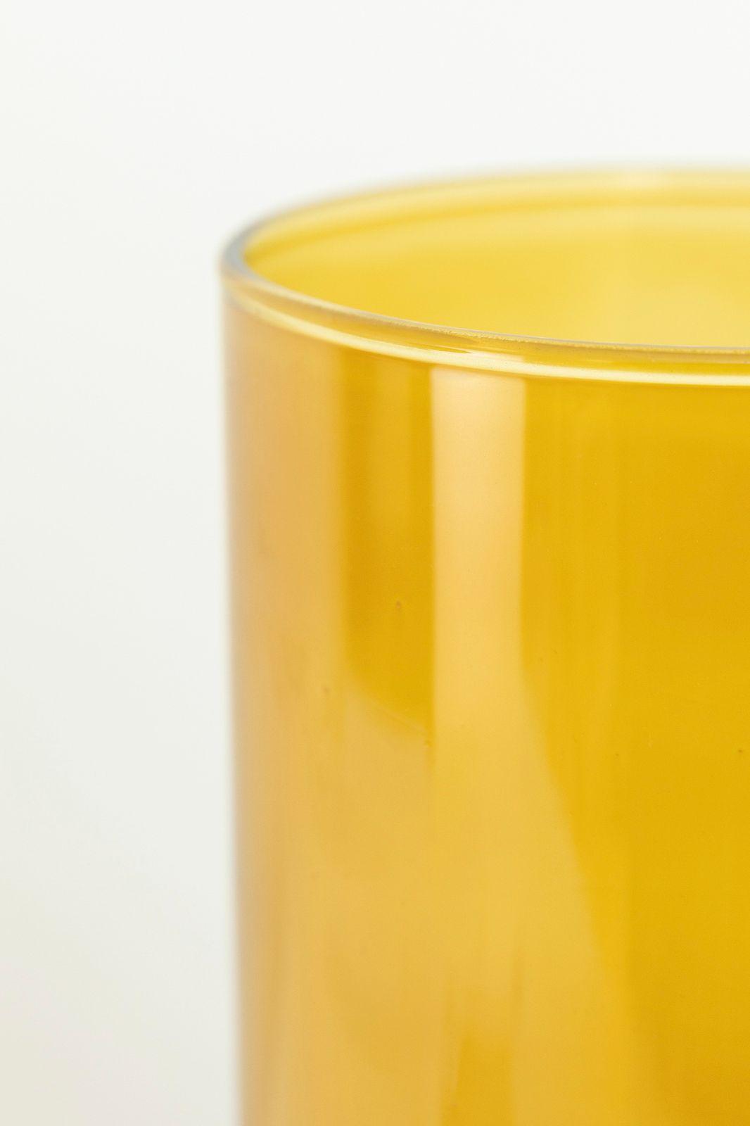 Gele glazen vaas - Homeland | Sissy-Boy